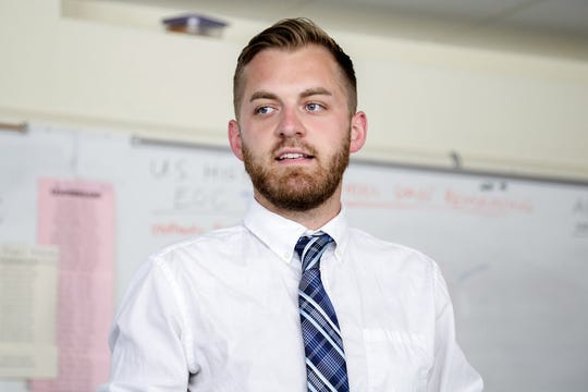 Daniel C. Warner, a history teacher at East High School, received the James Madison Fellowship to help develop secondary education in American history and government.