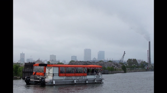 A boat tour through the Menomonee Valley and Harbor District highlights Milwaukee's industrial heritage, as well as its revival.
