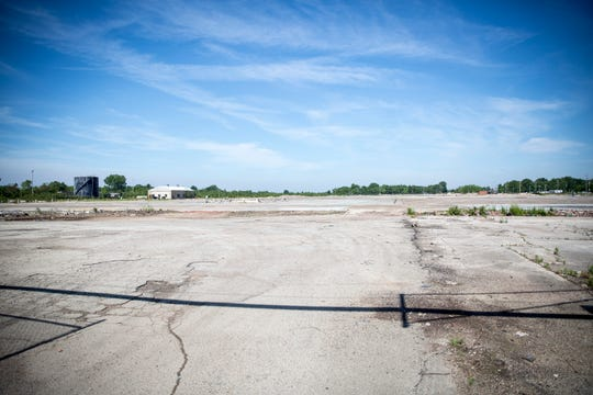 The now empty lot that used to house the former BorgWarner complex will see construction in the next few months of the Waelz Sustainable Products zinc facility. The project is a joint venture with Heritage Environmental.
