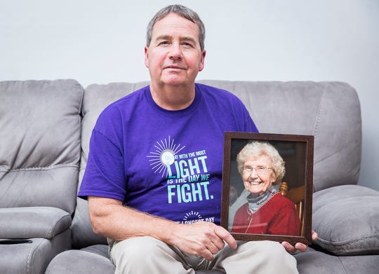 John Eaton helped organize an open mic fundraiser at Elm Street Brewing Company scheduled for June 19 to raise funds for the Alzheimer's Association. Eaton lost his mother to the disease last year.