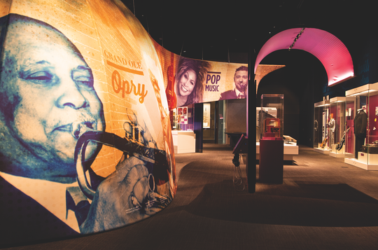 Currently scheduled through spring of 2020, the State of Sound exhibition highlights the incredible diversity of music and music creators that have emerged from the Volunteer State.