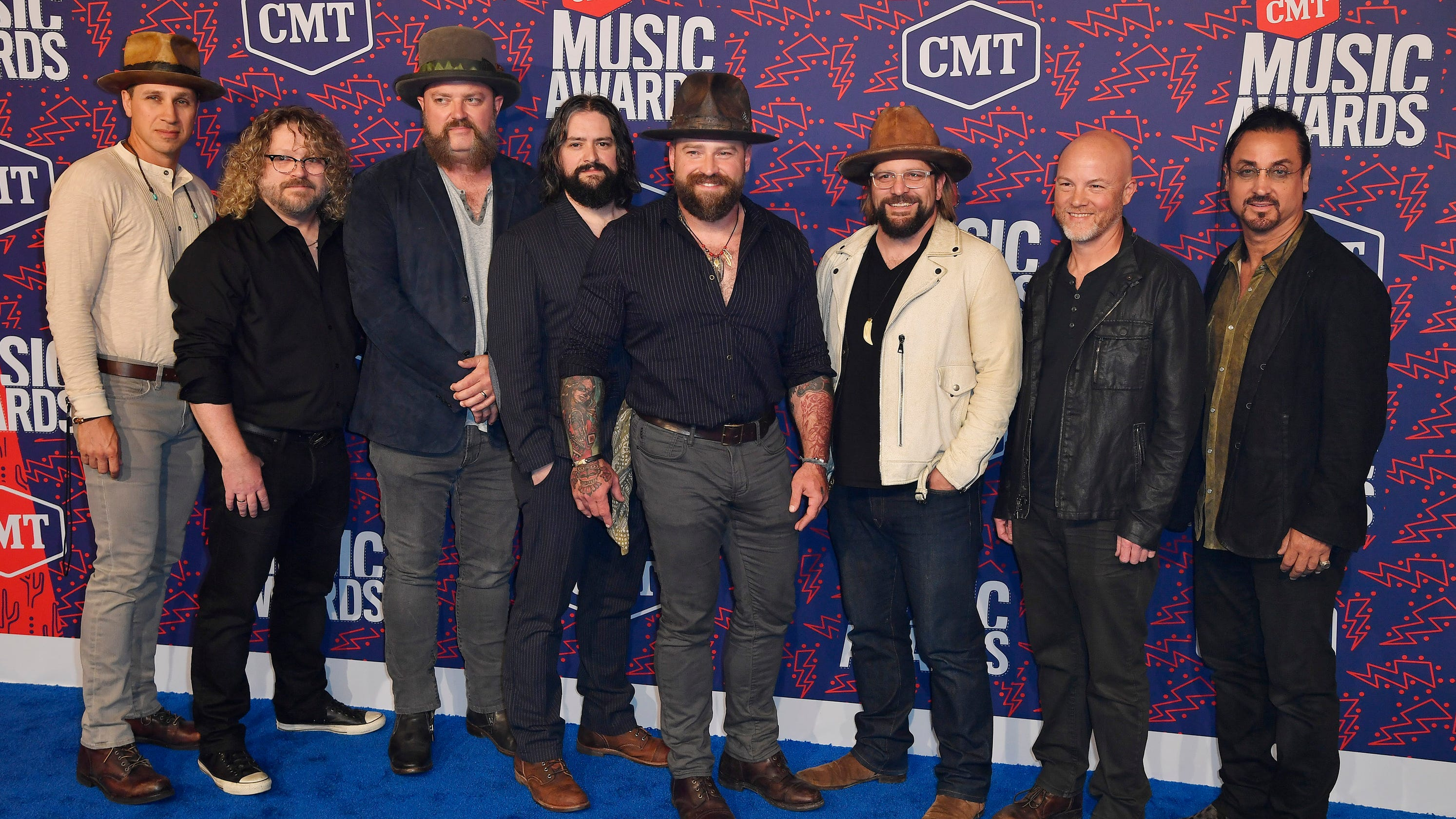 Zac Brown Band Lets Loose F-bomb At 2019 CMT Awards