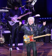 Marty Stuart and the Fabulous Superlatives perform during Marty Stuart's Late Night Jam Wednesday, June 5, 2019 at the Ryman Auditorium.