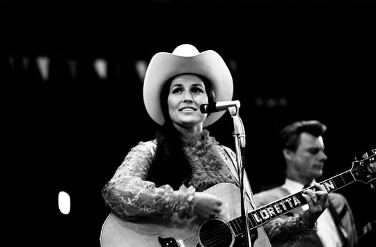 Mountain cowgirl Loretta Lynn is ready to open a summerlong stampede May 30, 1969, at the Fairgrounds Coliseum with a performance during the Loretta Lynn Rodeo.