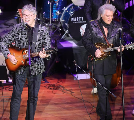 Steve Miller performs with Marty Stuart and the Fabulous Superlatives during Marty Stuart's Late Night Jam Wednesday, June 5, 2019 at the Ryman Auditorium.