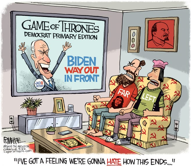 Democrat Game of Thrones