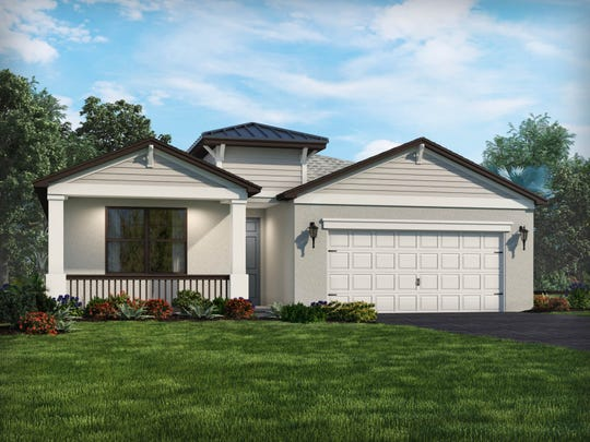 Meritage Homes' Osprey model is currently underway at Babcock Ranch.