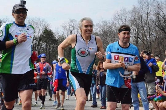 Larry Grogin of Franklin Lakes is running 1,000 miles this summer to hear the stories of everyday Americans.