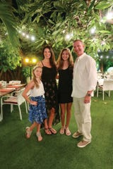 Janelle, Tara, Brianna and Doug Arendacs on vacation.
