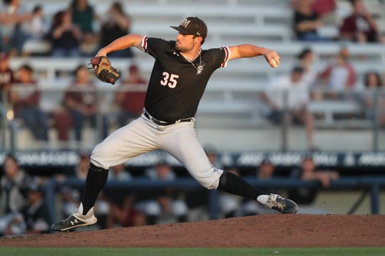 New Mexico State pitcher Andrew Edwards was selected in the 31st round (928th overall) by the New York Mets.