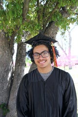 Jacob Stevens of Tularosa, New Mexico graduated from the New Mexico School for the Deaf on May 31, 2019.