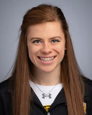 Lauren Wrensch started competing in track and field as a freshman at the University of Wisconsin-Oshkosh.