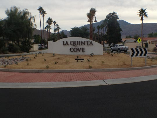 This Desert Sun file photo shows a roundabout at Calle Sinaloa and Eisenhower Drive in La Quinta. City staff say its comparable to five roundabouts that will be installed in other parts of the La Quinta Village neighborhood.