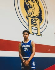 Dior Johnson is transferring to Hillcrest Prep.