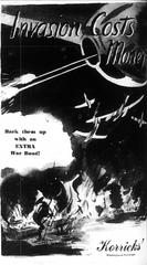 A June 6, 1944 war bond advertisement in The Republic.