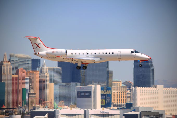 JetSuiteX will offer flights between Phoenix and Las Vegas starting at $79 one way.