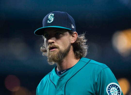 Could Mike Leake be on the move? His name is coming up in MLB trade speculation with a lot of it swirling around the Diamondbacks.