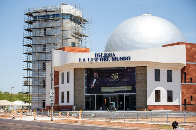 Iglesia La Luz del Mundo is pictured on Thursday, June 6, 2019, in Phoenix.