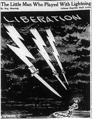 Reg Manning's June 7, 1944 editorial cartoon for The Republic.