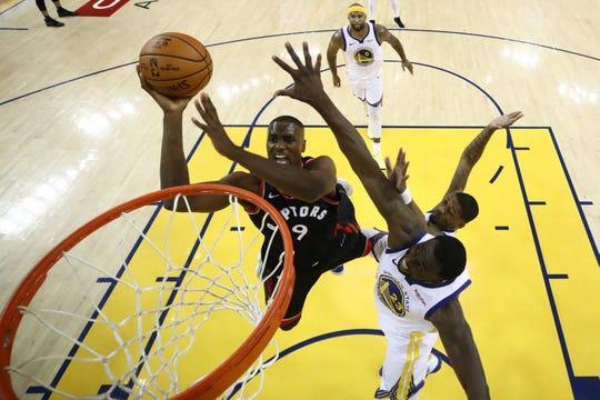 Raptors de Toronto se llevan el Juego 2 de la Final NBA.