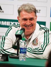 Gerardo 'Tata' Martino, D.T. de México, satisfecho con el desempeño del Tri.