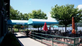 Treat Dad to a day by the water for Father's Day, with fine food and drinks at these waterfront dining spots.