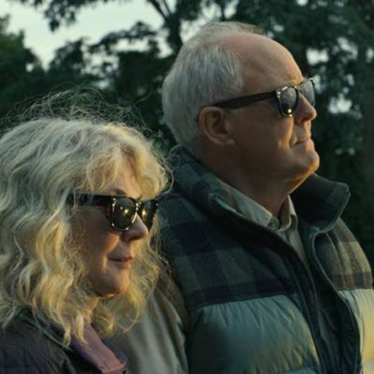 "John Lithgow and Blythe Danner star in ""The Tomorrow Man,"" playing at R/C Hanover Movies."