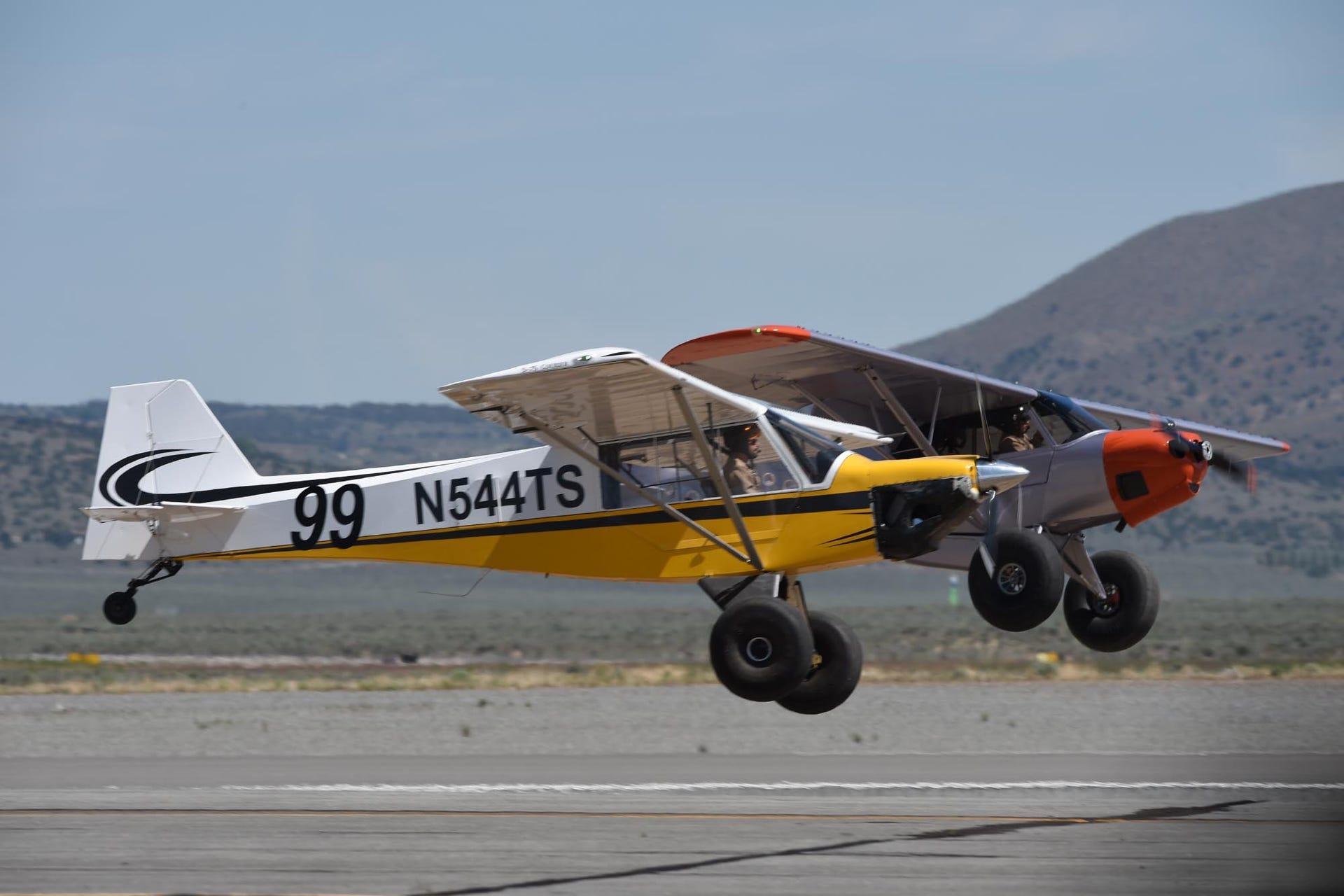 Photos: STOL Drag Air Races