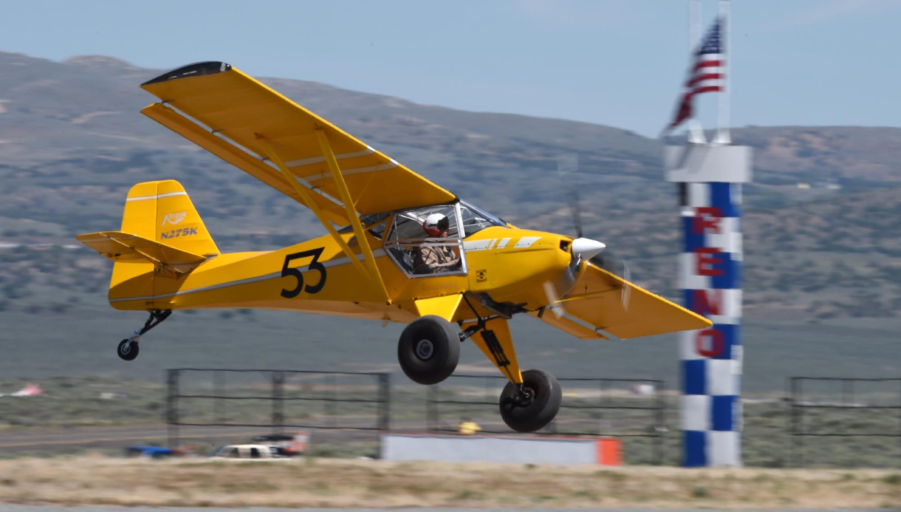 New at the Reno air races this year: Drag racing for planes