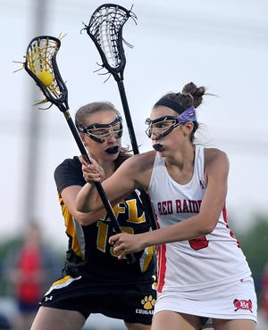 Andra Savage, shown in a 2016 file photo, and Palmyra-Macedon dropped a 9-5 decision to Mattituck in the state Class D lacrosse semifinals on Friday morning.