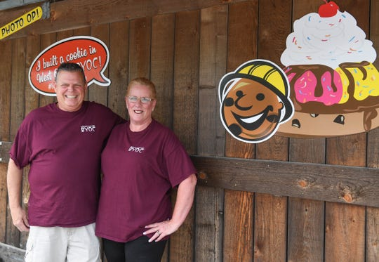 Kent and Wendy Massey, Owners of BYOB, located in West Ocean City, Md. on Wednesday, June 5, 2019.