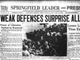 Newspapers in Springfield, Missouri show how the news of D-Day was reported June 6, 1944.