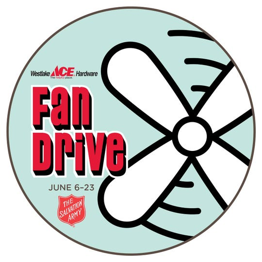 The Salvation Army and Westlake Ace Hardware's annual Fan Drive kicks off Saturday with a barbecue celebration at Westlake's 2350 S. Campbell Ave. location