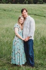 Galin and Charla Campbell May 2018 just weeks prior of diagnosis.