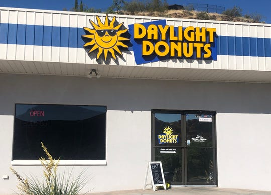 Daylight Donuts is located at 435 N. Bluff St. in St. George.