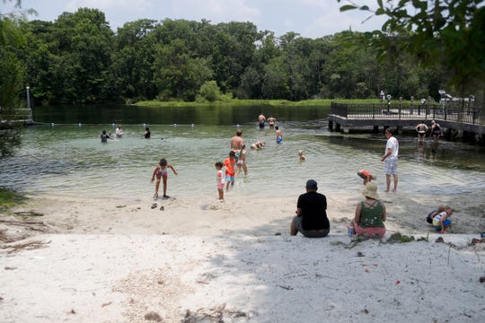 Wakulla Springs State Park provides a place for families to swim, float, sunbathe and dive year-round but is especially popular in the summer months.