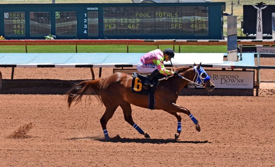 Fernweh will be one of 10 horses competing in the 350-yard, Grade 1 Ruidoso Futurity on Sunday, June 9, 2019, at Ruidoso Downs Race Track and Casino.