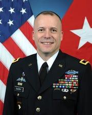 U.S. Army Brigadier General Walter Duzzny