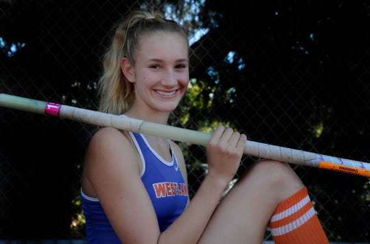 Westlake High sophomore Paige Sommers continued her ascent as one of the top female high school pole vaulters in the state and nation.