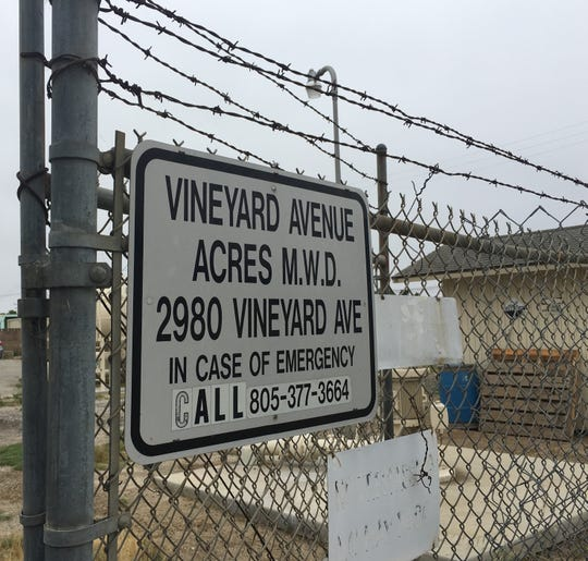 Vineyard Avenue Acres Mutual Water Company had to shutter its last operating well last month.