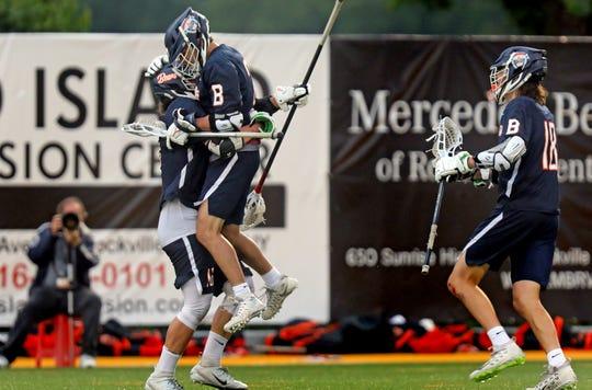 Briarcliff defeats Mattituck 10-3 during NYSPHSAA boys lacrosse semi-finals at Adelphi University in Garden City on June 5, 2019.