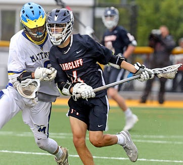 Briarcliff defeats Mattituck 10-3 during NYSPHSAA boys lacrosse semi-finals at Adelphi University in Garden City on June 5, 2019.
