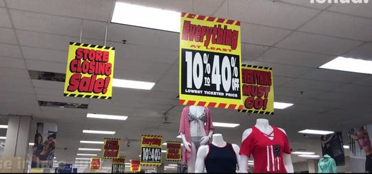 Sears in Yonkers has started its liquidation sale.