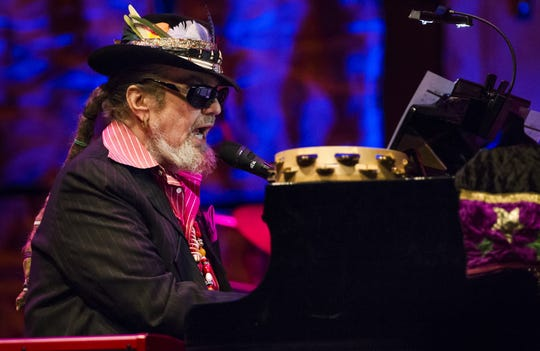 Dr. John performs at the World Cafe Live at the Queen on Tuesday, March 5, 2015.