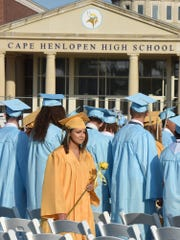 Cape Henlopen High School graduated 362 students in the class of 2019. The year also marks the 50th anniversary of the school district.