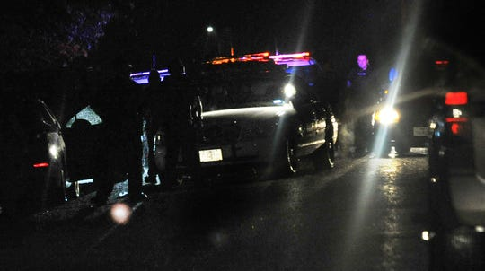 Wichita Falls police surround a house in the 1200 block of 35th Street after a suspected reportedly fired multiple rounds at the officers from inside the residence.