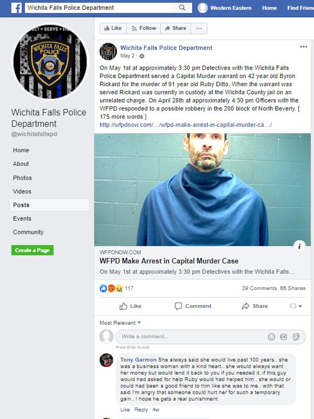 Community remembers Wichita Falls woman in wake of homicide