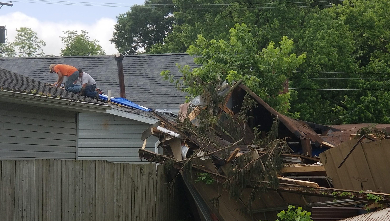 FEMA, Ohio EMA assess tornado damage in Roseville