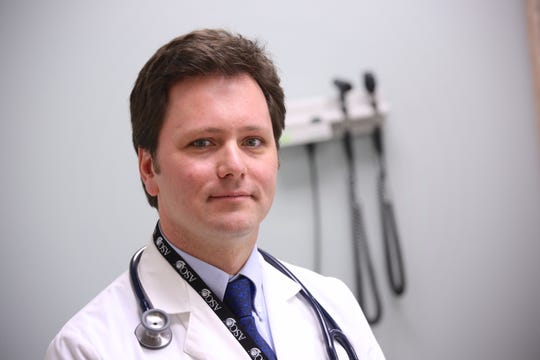Dr. Patrick Boland is a medical oncologist with Roswell Park Comprehensive Cancer Center in Buffalo.