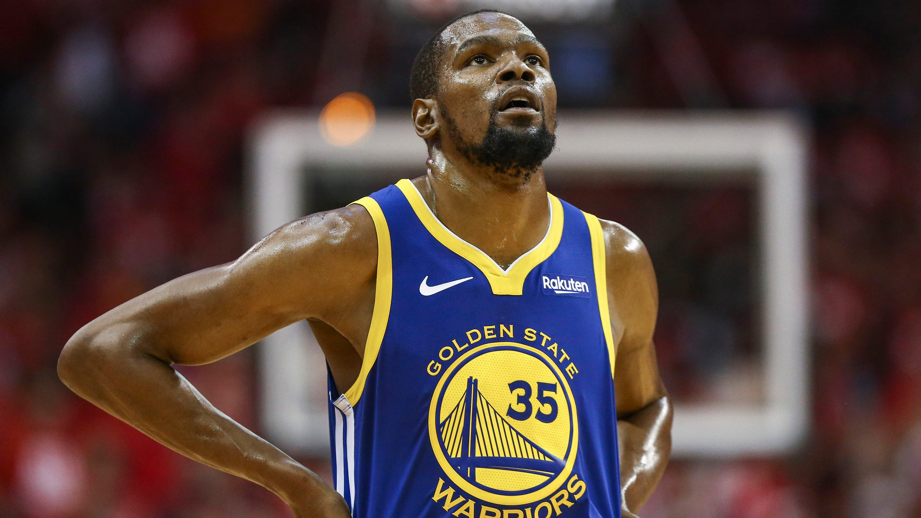buy online 70878 3f857 NBA Finals 2019: Warriors' Kevin Durant will sit for Game 4